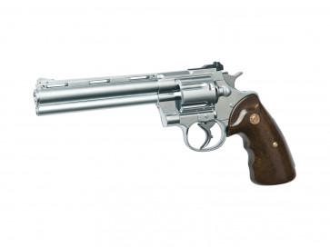 Softair Gas Pistole R-357 chrome