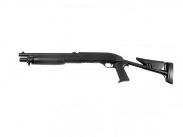 Softair pumpgun Franchi SAS 12, Flex-stock.
