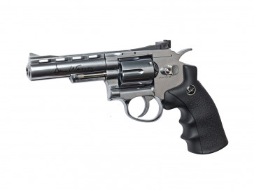 Softair CO2 Revolver Dan Wesson 4 Zoll silber.