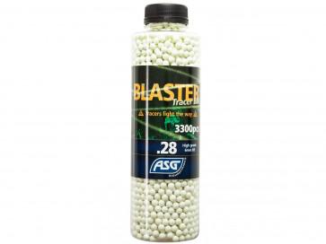 Blaster Tracer BBs 0,28g 3300er Flasche, weiss