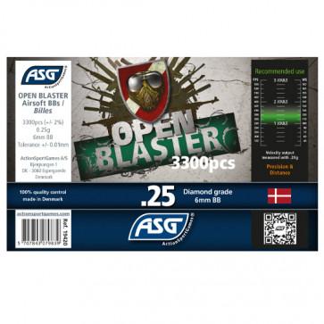 0,25g Open Blaster BIO BB´s (3300 Stück)