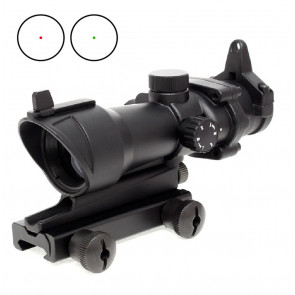AIM-O Airsoft ACOG Style Red Dot Sight