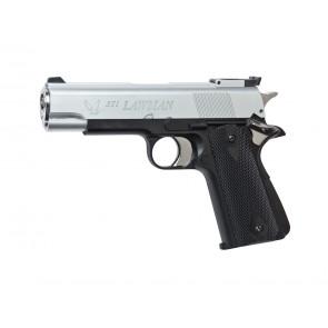 Softair Gas Pistole STI Lawman schwarz/silber