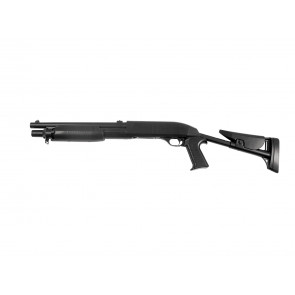 Softair pumpgun Franchi SAS 12, Flex-stock.
