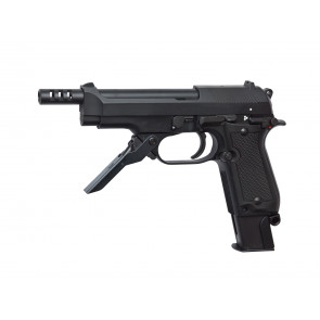 Softair Gas Pistole M93R II, blowback.