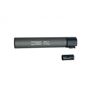 B&T Rotex IIIA Silencer 14mm- grau.