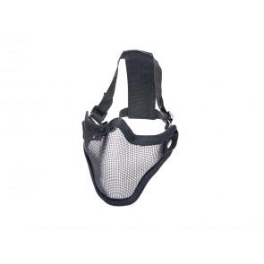 Schwarz Grid Maske.