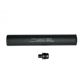 Optischer Schalldämpfer,  HUSH XL  mit Adapter.