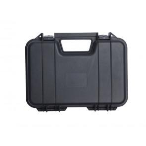 Pistolenkoffer Kunststoff 31 x 19 x 7 cm schwarz.