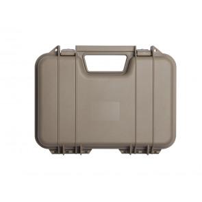 Pistolenkoffer Kunststoff 31 x 19 x 7 cm Tan.