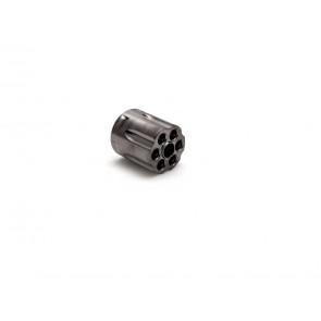 Moon Clip kompatibel Dan Wesson 715 Revolver-Trommel, Stahlgrau.