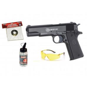 """Colt 1911 A1 """"GO FOR IT"""" pakke tilbud"""