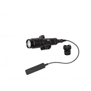 Strike Systems Flashlight, Tactical version, 280-320 lumens, Black.