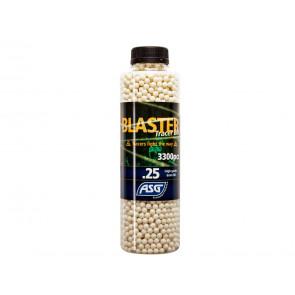 Blaster Tracer BBs 0,25g 3300er Flasche, weiss