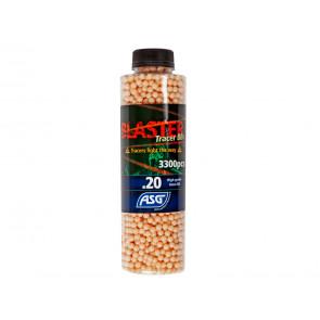 Blaster Tracer BBs 0,20g 3300er Flasche, Rot