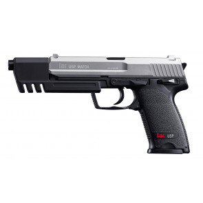 Airsoft H&K USP Match Federdruck Replika, Dual Tone