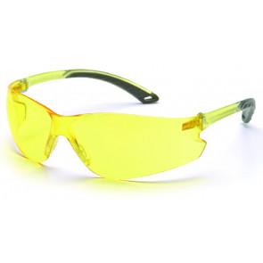 Schutzbrille Swiss Arms, Gelb.