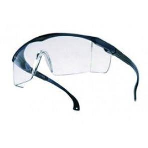 Softair Bolle Schutzbrille, klar/schwarz