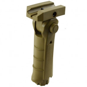 Swiss Arms 5-Position Vertical Frontgriff Tan.