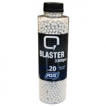 0,20g Q Blaster Airsoft BB-3300 pcs. In bottle.