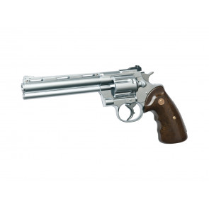 Softair gas pistol R-357 chrome