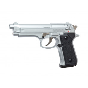 Softair gas pistol M92F silver