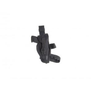 Thigh holster, black (MK23 socom, DE50).