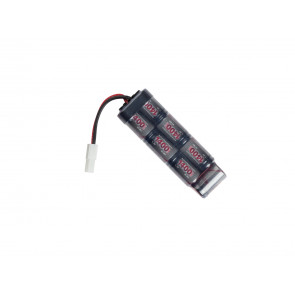 Battery 8,4V 1400mAh, NiMH, mini-U.