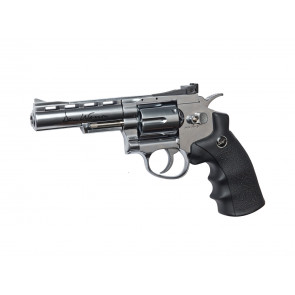 "Softair CO2 revolver Dan Wesson 4""."