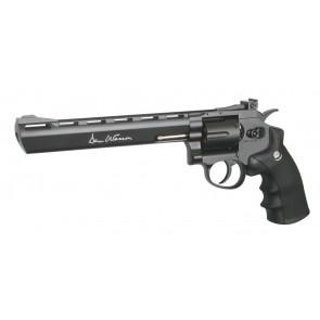 "Softair CO2 revolver Dan Wesson 8""."