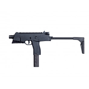 Softair gas pistol B&T MP9 A3, black, blowback.