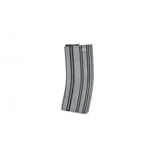 Softair Armalite mid cap magazin for M15/M16 AEG´s, 140 rds.
