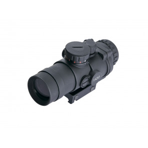 Rugged 30 mm red-dot sight.