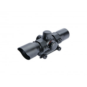30mm Dot sight, red/green, w. mount.