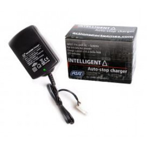 Auto-stop charger for 4-8 cells, 1000 mA, EU-version.