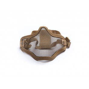 Tan metal gridmask.