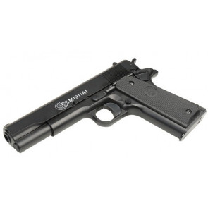 Softair pistol Colt 1911 A1 with metal slide.