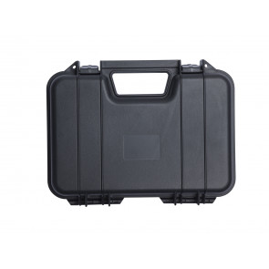 Plasticbox, 31 x 19 x 7 cm, black.