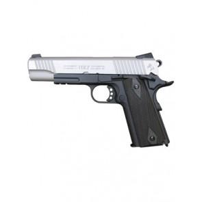 Airsoft CO2 pistol Colt 1911 Rail Gun Dual Tone, blowback.