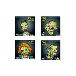 Zombie shooting targets