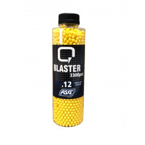 0,12g Q Blaster Airsoft BB-3300 pcs. In bottle.