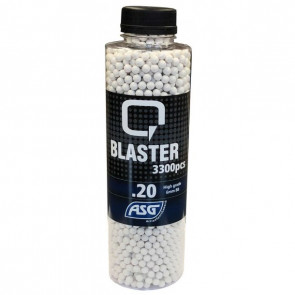 0,20g Q Blaster Airsoft BB-3300 pcs. In bottle.