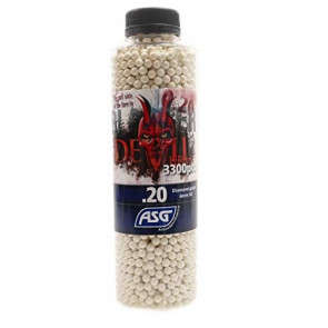 Devil 0,20g Airsoft BB -3300 pcs. in bottle