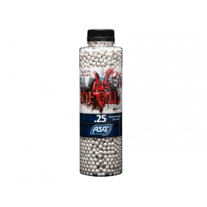 Devil 0,25g Airsoft BB -3300 pcs. in bottle