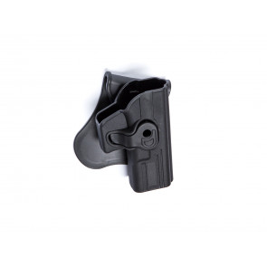 Holster Polymer with Quick Release Glock models, right.