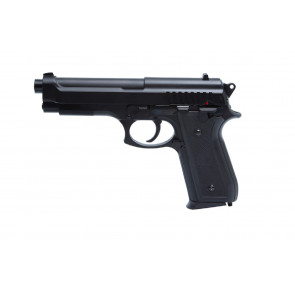Airsoft pistol PT92 with metal slide.