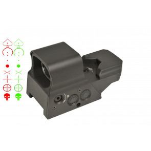 Swiss Arms red/green Rechargeable reflex dot sight.