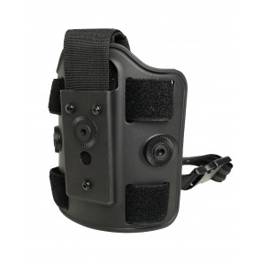 Drop leg panel for riged holster
