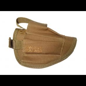 Swiss Arms Ambidextrous belt holster, Tan.