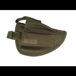 Swiss Arms Ambidextrous belt holster, OD Green.